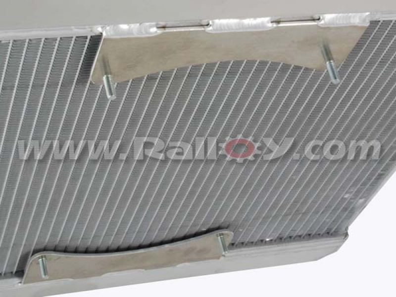 """RAL031D - 11"""" Fan Mounts - Front added to radiator"""