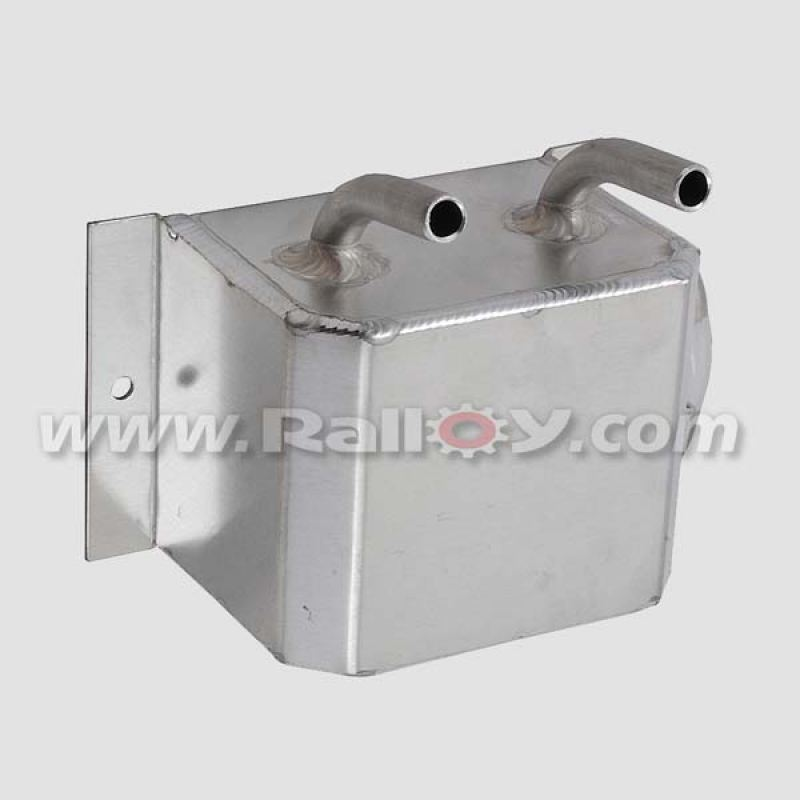 "RAL051B 1 ltr Catch tank 1/2"" push on alloy fittings"