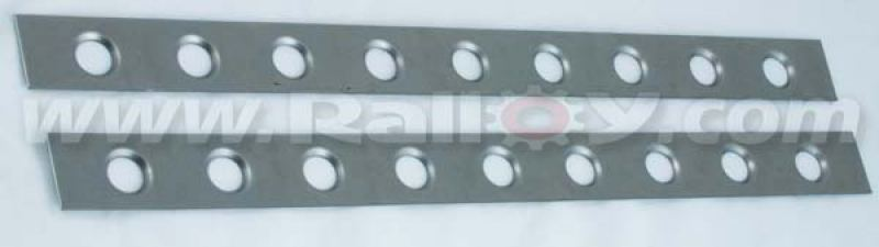 RAL065B - Pair of Roll Cage Gussets - B Posts