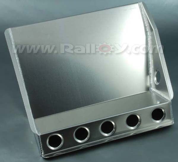 RAL070 - Co-Drivers Footrest Raised for Exhaust Tunnel