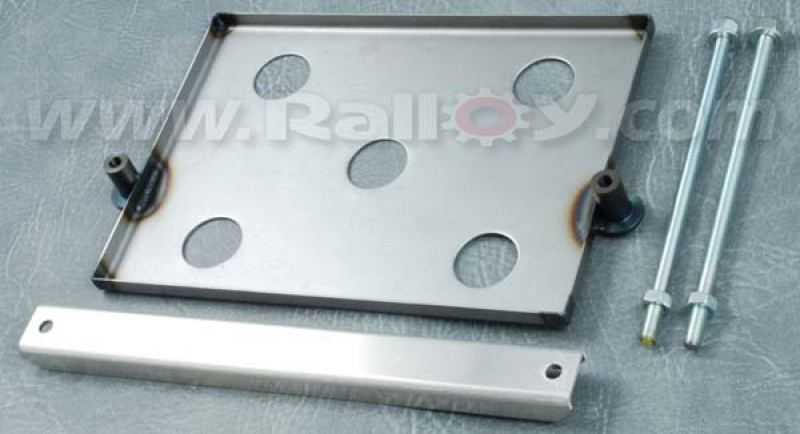 RAL104 - Steel Battery Tray with Aluminium strap