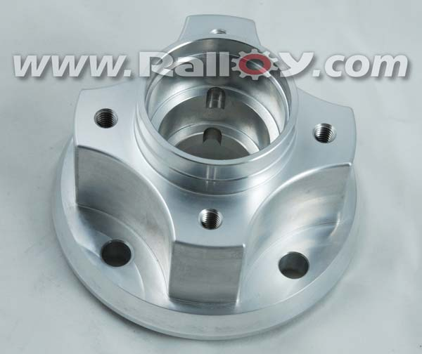 RAL229 Group 4 Alloy Front hub, standard stud holes, large outer