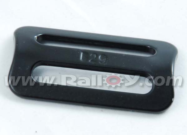 RAL2949A - 2 Inch 3 Bar Slider - Black Coated